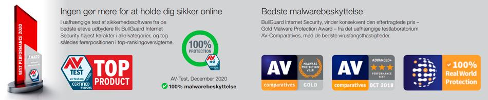 Bullguard test - Ingen gør mere for at holde dig sikker online